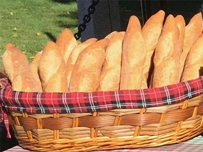 Order Fresh Baked Bread at Grasshoppers